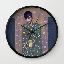My Body is a Bottle Wall Clock