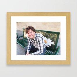 Brock Wilbur September Bench 2 Framed Art Print