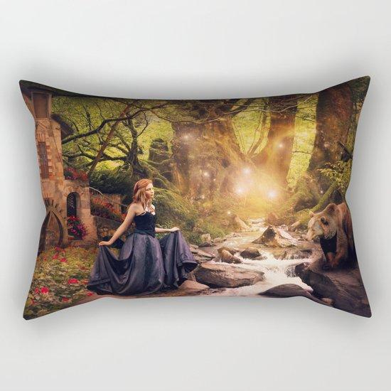 Masha and the Bear Rectangular Pillow