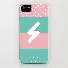 Memphis Style N°5 iPhone Case