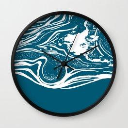 Midnight Abstract Wall Clock