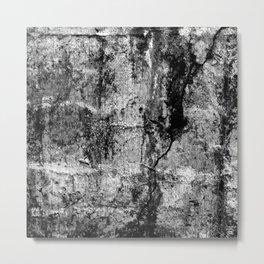 TEXTURES_concrete Metal Print