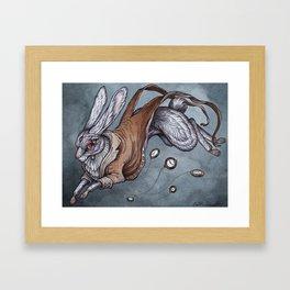The White Rabbit Framed Art Print