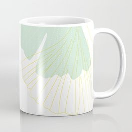 Gingko Leaves Coffee Mug