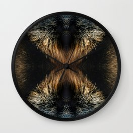 Dog fur 2 Wall Clock