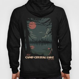 Visit Camp Crystal Lake Hoody