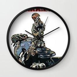 Mechanical Violator Hakaider Wall Clock