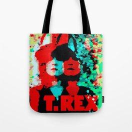 T.REX GLITCH Tote Bag