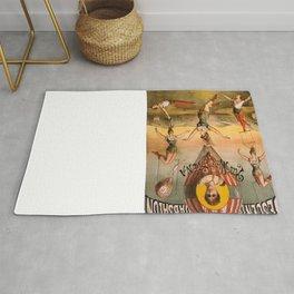 Vintage poster - Descente D'absalon Rug