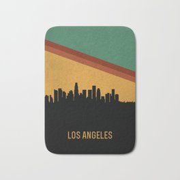 Los Angeles Skyline Bath Mat