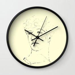 Suppress sadness Wall Clock