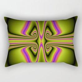 Kittycat Abstract Rectangular Pillow