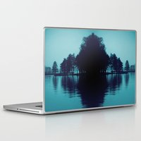 finland Laptop & iPad Skins featuring Finland Mysteries by Onaaa