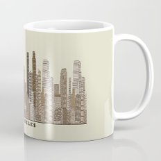 los angeles city Mug