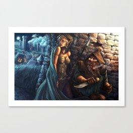 Trespassers Canvas Print