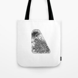 Peacock by annmariescreations Tote Bag