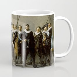 """Franz Hals """"Militia Company of District XI also known as 'The Meagre Company'"""" Coffee Mug"""