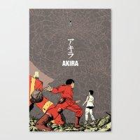 akira Canvas Prints featuring Akira by Rafael Romeo Magat