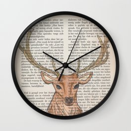 Oh my deer! Wall Clock
