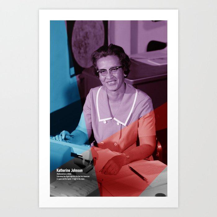 Women of NASA: Katherine Johnson Kunstdrucke