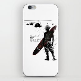 Do not surf iPhone Skin
