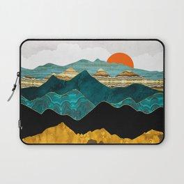 Turquoise Vista Laptop Sleeve