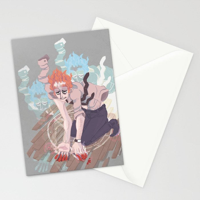 here comes the beast Stationery Cards