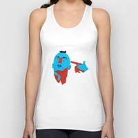 taxi driver Tank Tops featuring Taxi Driver by Eduardo Guima