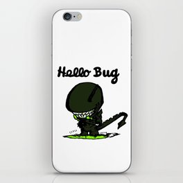 Hello Bug iPhone Skin