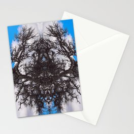 A Network of Trees in the Sky Stationery Cards