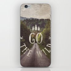 Go into the wild iPhone & iPod Skin