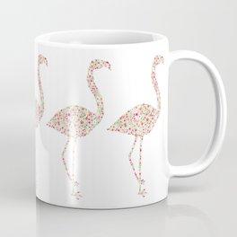Flamingo Floral Watercolor Coffee Mug