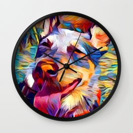 Australian Cattle Dog 2 Wall Clock