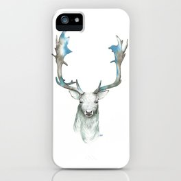Celestial Stag iPhone Case
