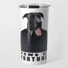 Paws of Fortune Travel Mug
