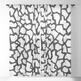80s Memphis Terrazzo Giraffe Sheer Curtain