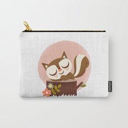 Sleeping Squrrel - Cute Animals Carry-All Pouch
