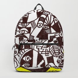 Aloe in Sierra Nevada (abstract illustration) Backpack