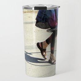 Dancing (Hula Hoop Series) Travel Mug