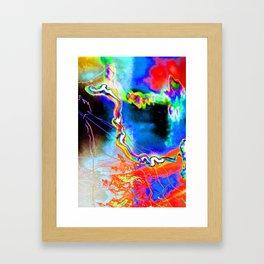 Lighting Experiment 41 Framed Art Print
