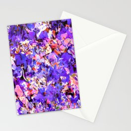 Plums and Peaches Stationery Cards