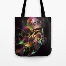 Vivid Skulls of Life Tote Bag