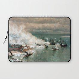 Battle Of Mobile Bay -- Civil War Laptop Sleeve