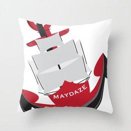 maydaze anchor Throw Pillow