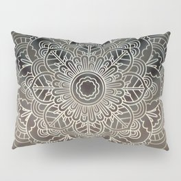 Light Mandala Pillow Sham