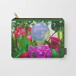 The Crystal Ball Oil Painting  Carry-All Pouch