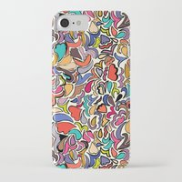 yellow submarine iPhone & iPod Cases featuring Yellow Submarine by Abby Galloway