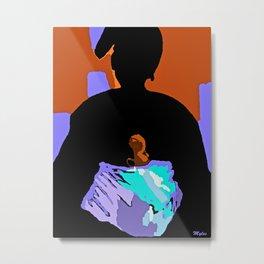 Woman Metal Print