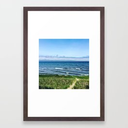 Michigan Summers Framed Art Print