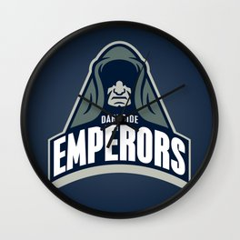 DarkSide Emperors -Blue Wall Clock